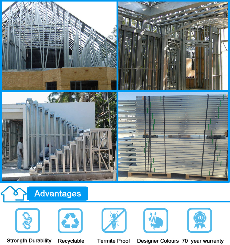 Low Cost China Prefabricated Homes Modern Design Earthquake-proof ...