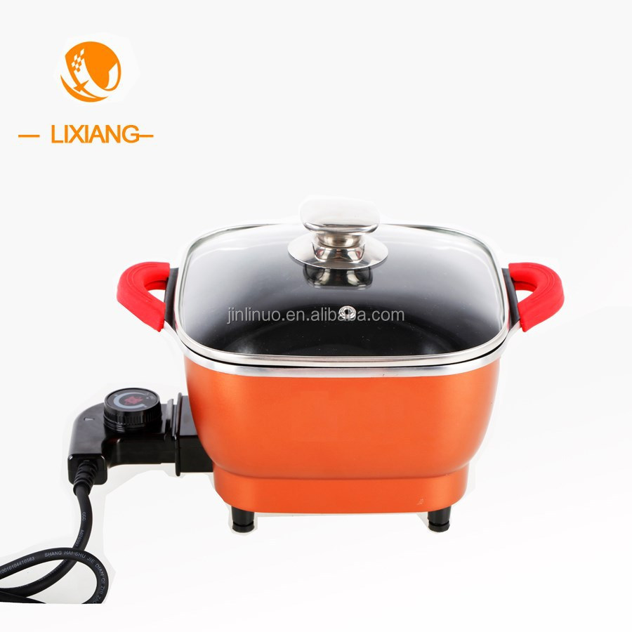 Electric Stock Pot ~ Travel electric multi mini cooking pot and hot for two
