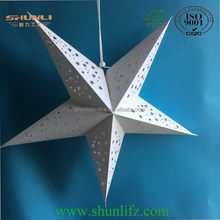 2015 holiday decoration special design paper star lantern