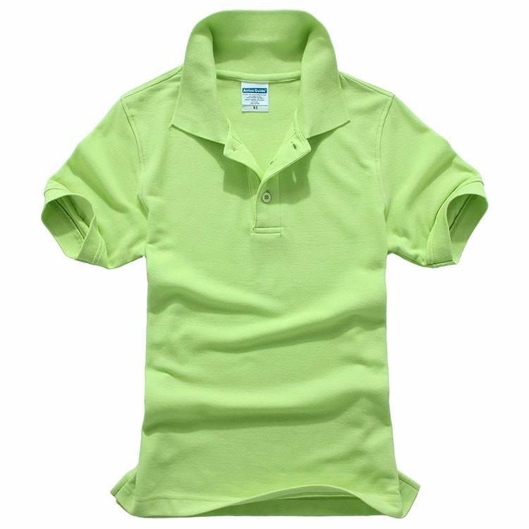 245gsm Cotton Polyester Blank Bulk Wholesale Polo T Shirt