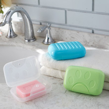 Portable Colorful Plastic PP Travel and Business Trips Soap box and Case Holder