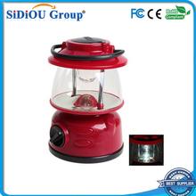 rechargeable led emergency lantern with radio
