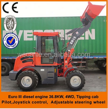 Hotsale chinese mini backhoe loader with wood grapple,grass grapple, pitchfork