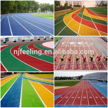 Rubber/ Synthetic Running Track, Rubber Track Manufacturer, Running Track Material -FN-D-150527