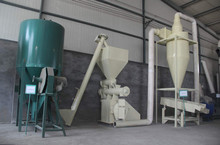Hot sale China famous brand hammer mill grinder and feed Mixer group