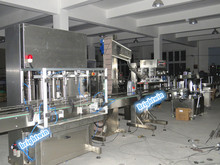 engine oil /gear box oil filler and capper machine