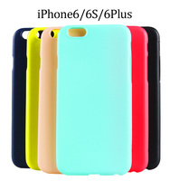 New!! Slim Ultra Thin Colorful Soft matte Rubber TPU Case For iphone 6 Plus 5.5 inch TPU Phone Back Cover
