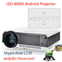200 inch Screen TV Home Theater Full HD 1080p 3D LED lamp video HDMI Android digital LCD projector