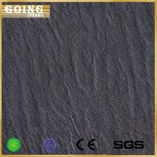 New Model 600*600mm Black Tile Texture, Asphalt Inkjeted Porcelain Floor Tile