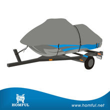New design Easily install breathable fabric 3 Seater Jet Ski Cover