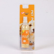 Mini air freshener dog aromatic /pet caring liquid deodorizer/ disinfectant animal spray paper card