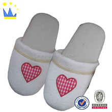 white coral fleece hotel and spa slippers or slippers free sample