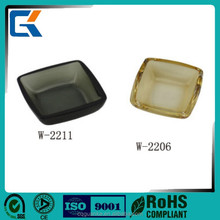 Cheap Clear Transparent Chinese Ceramic Bathroom Accessory Set Soap dish