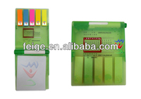 Popular Pen Holder With Memo Pad Holder Stick Pad