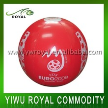 Promotional Logo Printing 24 Inch Inflatable PVC Beach Ball