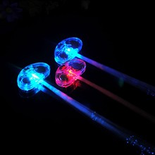 2015 New Year Christmas Party Club Bar hanging Flashing Led Hair China Led Braid Light up Party Colorful Glowing Hair