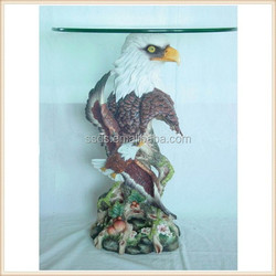 New Home resin sculpture eagle table