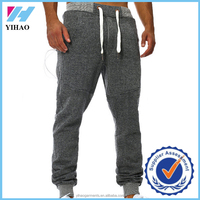Dongguan Yihao Custom 100% Cotton Mens Tapered Joggers Gym Training Sweatpants 2015