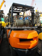 Toyota diesel forklift 3 ton for sale, 6FD30, 7FD30, 8FD30, used toyota forklift 3 ton