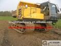 2 grandes toneladas excavadora sobre orugas transporte camiones para la venta
