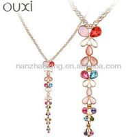 OUXI 2015 New Design Perfect Women Fashion Jewelry Chain Long Necklace
