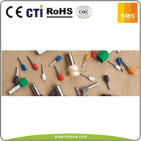 Low price nylon Insulated twin cord end copper tube terminals