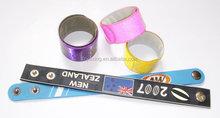direct from professional manufacturer different kinds of reflective bracelet