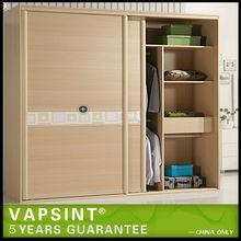 Foshan cheap knock down Bedroom cupboards design