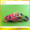 Promotion the high quality and low price multi colors silk print Skidproof silicone band for e cigs from China manufacture
