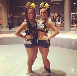 Sublimation Cheerleading Uniforms Custom Practice Wear