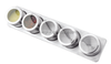New Stainless Steel Magnet Spice Jar With Stand