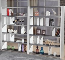 Hot Sale Modern Fashion Style Combination Model Wooden Bookcase Furniture