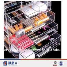 Transpant Acrylic Drawer Makeup Organizer, Acrylic Cosmetic Storage in good quality