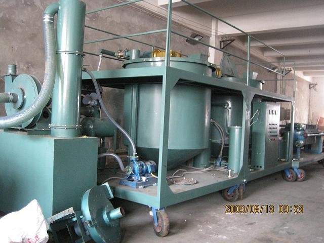 Vacuum engine oil purifier car recycling machine buy for Motor oil recycling center