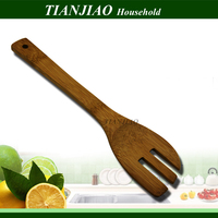 Bamboo utensils wooden cutlery bamboo kitchenwares wood forks eco-friendly natural bamboo fork wooden household products items