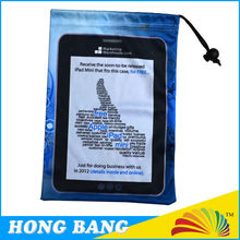 HBD554 Factory custom microfiber cleaning pouch for ipad