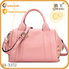 Boston style bag office lady leather tote handbag with high quality