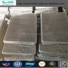 Stainless Steel Wire Netting /Square Barbecue grill netting /good quality grill net/Barbecue Wire Mesh BBQ(Anping factory )
