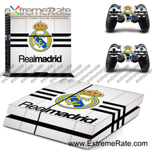 Simple design Hot sale custom Real.Madrid.C.F skin for ps4 protective skin Sticker Playstation 4 console controller DPTM0018