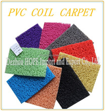 PVC Coil Carpet can due to order
