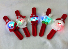2015 Best Toys For 2015 Christmas Gift Funny Christmas Gift Kids Santa Claus Wristband