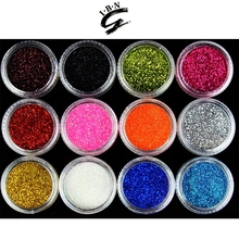IBN wholesale OEM welcomed acrylic glitter powder/acrylic nail glitter