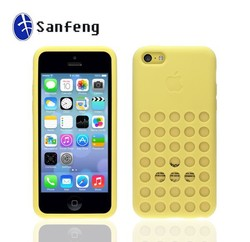 High quality soft silicone gel cell phone case for iphone 5c