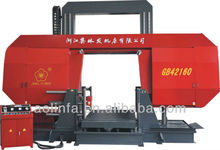 Square column horizontal metal band saw machine