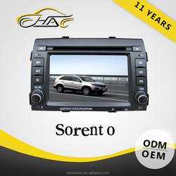 For Sorento Double Din Car Radio With GPS Audio Radio MP3/MP4 DVD Player
