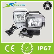 LED / HID work light 55W 4700lm Wireless remote control HID work light for trucks/auto