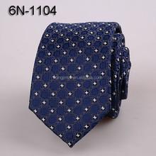 6cm width Micro Fiber ties Dark blue floral print neckties Polyester Woven neck ties on sale 6N1104
