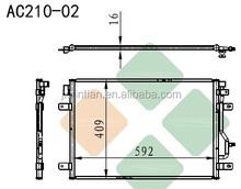 Aircon Car Condenser Aftermarket 8E0260403Q/T/H
