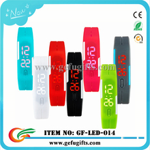 alibaba express fashion 12 colors waterproof sport digital watch water resist silicone led bracelet watches 2015