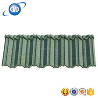 GKR-N15 0.5mm Galvanized Steel Corrugateel Roofing Sheet/Zinc Color Stone Coated Metal Roof Tile